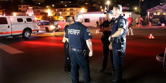 Brand pa flygfalt hart slag mot polisen