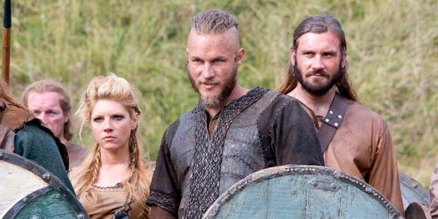 "Scen ur tv-serien ""Vikings"". Jonathan Hession / TT / NTB Scanpix"