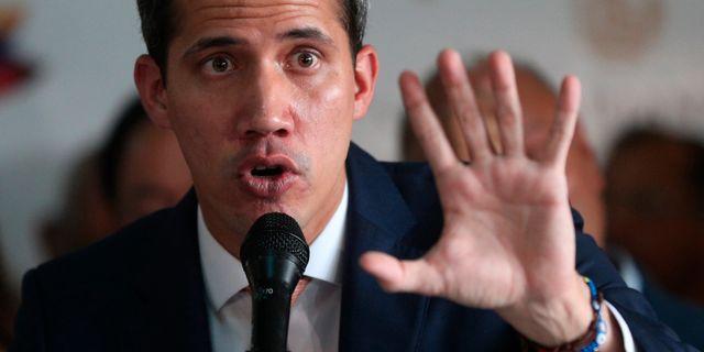 Juan Guaidó. Martin Mejia / TT NYHETSBYRÅN/ NTB Scanpix