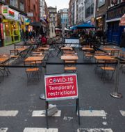 Nya restriktioner har införts i London. Dominic Lipinski / TT NYHETSBYRÅN
