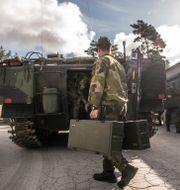 Försvarsmaktens övning på gotland 2020/Illustrationsbild Bezhav Mahmoud/Försvarsmakten / TT NYHETSBYRÅN