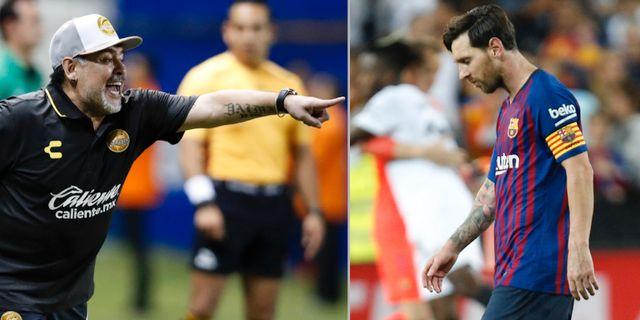 Maradona skulle kunna do for jobbet