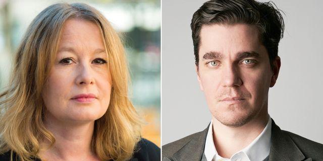 Åsa Linderborg/Martin Kragh. TT/Utrikespolitiska institutet