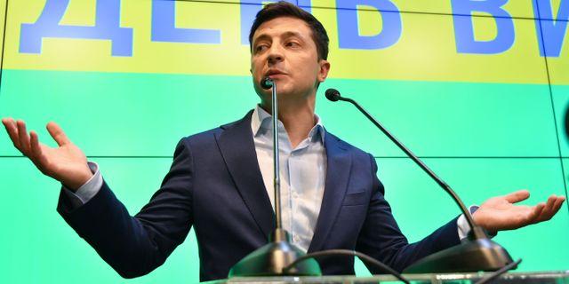 Volodymyr Zelenskyj  GENYA SAVILOV / AFP