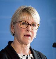 Margot Wallström (S). Janerik Henriksson/TT / TT NYHETSBYRÅN