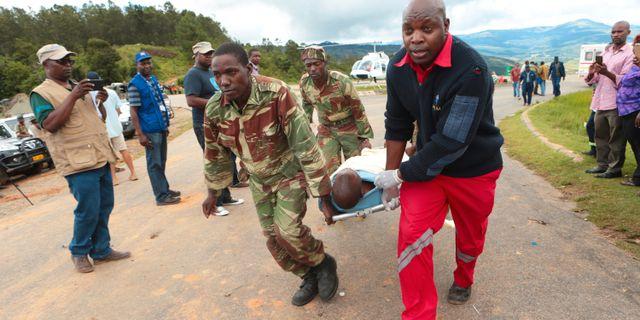Bild från Zimbabwe idag. Tsvangirayi Mukwazhi / TT NYHETSBYRÅN