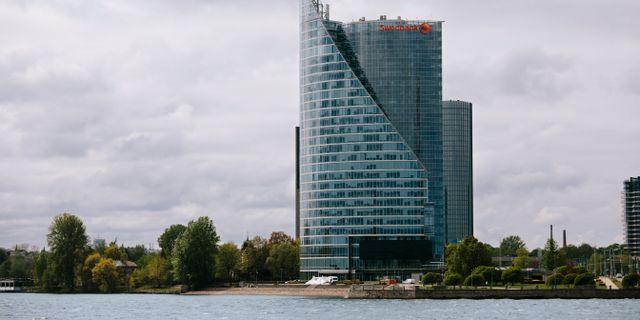 Illustrationsbild. Swedbank-kontor i Baltikum.  Simon Rehnström/SvD/TT / TT NYHETSBYRÅN