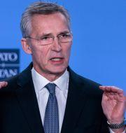Natos generalsekreterare Jens Stoltenberg. KENZO TRIBOUILLARD / AFP