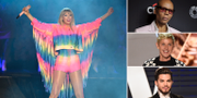 Taylor Swift, RuPaul, Ellen DeGeneres, Adam Lambert TT