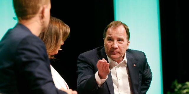 Stefan Löfven.  Stefan Jerrevång/TT / TT NYHETSBYRÅN