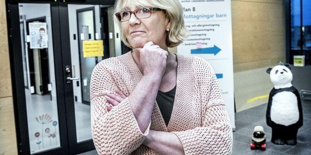 Finanslandstingsråd Irene Svenonius (M). Tomas Oneborg/SvD/TT / TT NYHETSBYRÅN