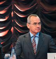 Vd Alexander Schneiter och ordförande Ian Lundin Fredrik Sandberg/TT / TT NYHETSBYRÅN