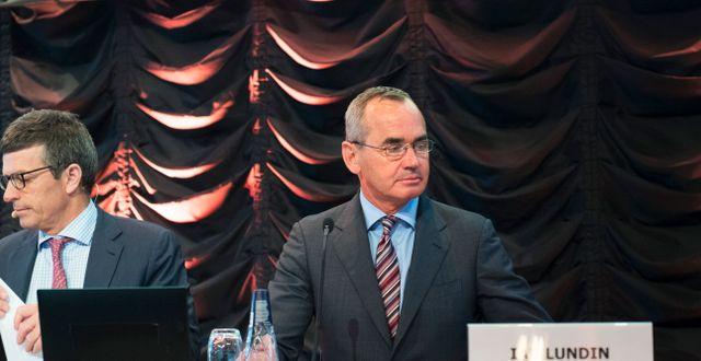 Vd Alexandre Schneiter och ordförande Ian Lundin Fredrik Sandberg/TT / TT NYHETSBYRÅN