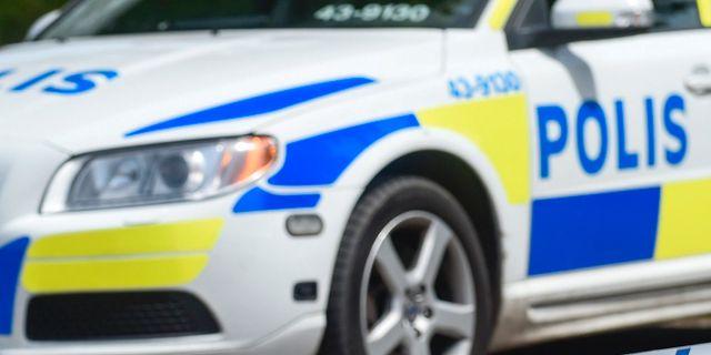 Polis sm urartade i vilt slagsmal