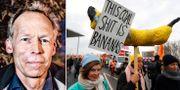 Johan Rockström/Demonstration inför klimattoppmötet i Berlin.  TT