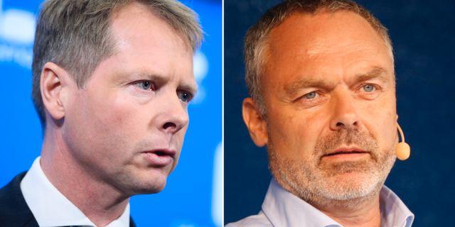 Christer Nylander (L) och Jan Björklund (L). Arkivbild. TT