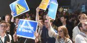 Från Liberalernas valvaka den 9 september. Arkivbild. Fredrik Sandberg/TT / TT NYHETSBYRÅN