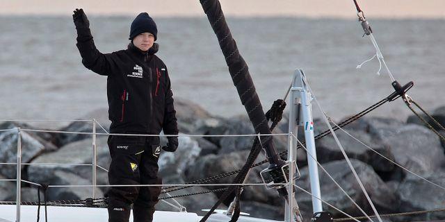 Greta Thunberg. Rob Ostermaier / TT NYHETSBYRÅN