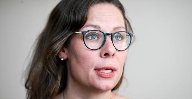 Maria Malmer Stenergard (M). TT NYHETSBYRÅN