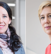 Annika Winsth och Anna Breman. Pressbild / TT