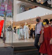 Illustrationsbild: En H&M-butik i Hongkong.  Kin Cheung / TT NYHETSBYRÅN