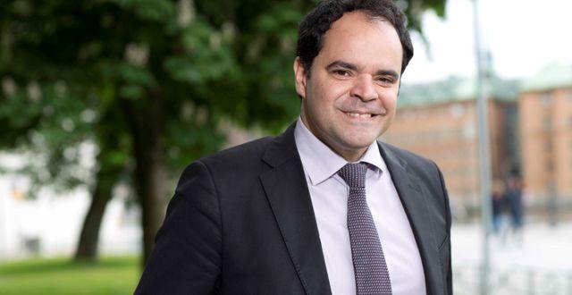 Paulo Silva, seniorkonsult och före detta stabschef för Miljöpartiet. Foto: New Republic