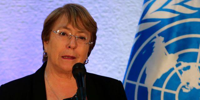 Michelle Bachelet. CRISTIAN HERNANDEZ / AFP