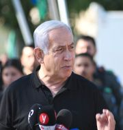 Benjamin Netanyahu. Yuval Chen / TT NYHETSBYRÅN