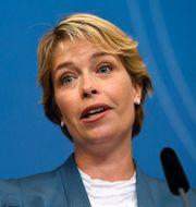 Arkivbild: Socialminister Annika Strandhäll (S). Erik Simander/TT / TT NYHETSBYRÅN