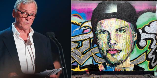 """Klas Bergling/Muralmålning av Tim """"Avicii"""" Bergling  TT"""