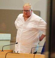 Edvin i samband med tingsrättsförhandlingarna. Micke Fransson/TT / TT NYHETSBYRÅN