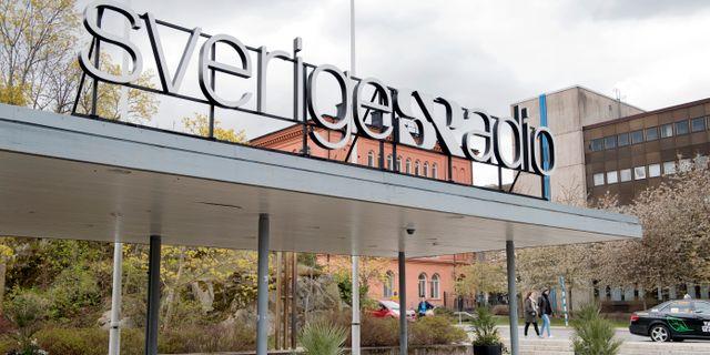 Sveriges Radios lokaler på Gärdet i Stockholm. Jessica Gow/TT / TT NYHETSBYRÅN