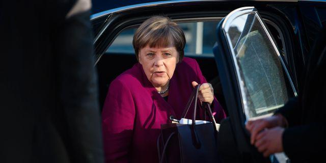 Angela Merkel, arkivbild. GREGOR FISCHER / DPA