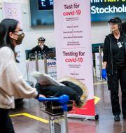 Arlanda flygplats/Arkivbild Claudio Bresciani / TT / TT NYHETSBYRÅN