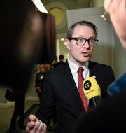 Lars Hjälmered.  Stina Stjernkvist/TT / TT NYHETSBYRÅN