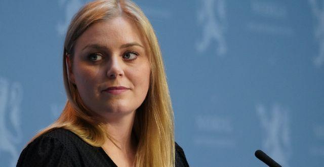 Energi- och oljeminister Tina Bru.  Ole Berg-Rusten / TT NYHETSBYRÅN