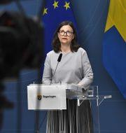 Utbildningsminister Anna Ekström (S). Claudio Bresciani/TT / TT NYHETSBYRÅN