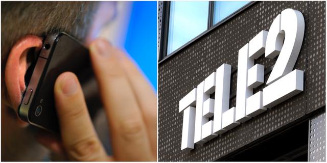 Tele2:s telefoni kraschade igen på tisdagen. Arkivbilder. TT.