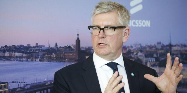 Ericssons vd Börje Ekholm. Christine Olsson/TT / TT NYHETSBYRÅN
