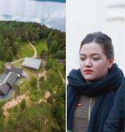 Gården på Utøya där attackerna ägde rum/arkivbild på Philip Botström och Andrea Törnestam. TT