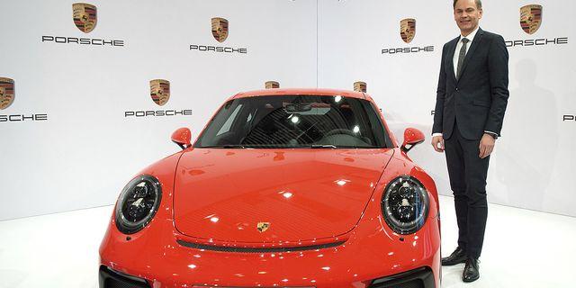 Porsches vd Oliver Blume TT
