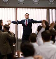 Leonardo DiCaprio i filmen Wolf of Wall Street. Mary Cybulski / TT NYHETSBYR N