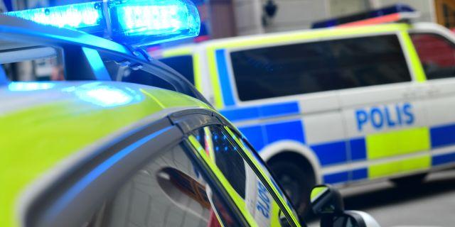 Polisbilar/arkivbild.  Stina Stjernkvist/TT / TT NYHETSBYRÅN