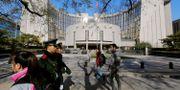 Kinas folkbanks huvudkontor i Peking (arkivbild) Jason Lee / TT NYHETSBYRÅN