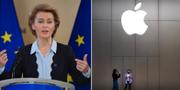 Ursula von der Leyen, EU-kommissionens ordförande.  TT