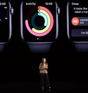Sumbul Desai, chef för Apples hälsoverksamhet.  Tony Avelar / TT NYHETSBYRÅN