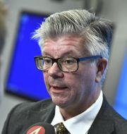 M:s utrikespolitiska talesperson Hans Wallmark Claudio Bresciani/TT / TT NYHETSBYRÅN