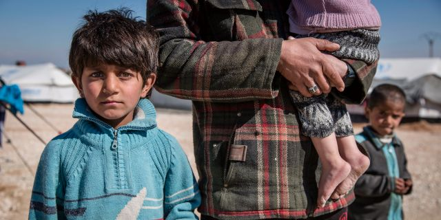 Många barn i al-Hol-lägret är undernärda och i dåligt skick. Jonathan Hyams / TT NYHETSBYRÅN/ NTB Scanpix