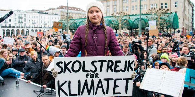 Greta Thunberg Daniel Reinhardt / TT NYHETSBYRÅN/ NTB Scanpix