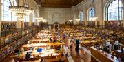 New Yorks statsbibliotek  Mark Lennihan / TT NYHETSBYRÅN